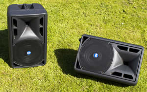 speaker stage monitor  hire at cheltenham gloucestershire big friendly audio